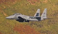 MISSION MARKS (Dafydd RJ Phillips) Tags: ln133 lakenheath afb usaf strike eagle f15e f15 low level loop mach military aviation