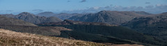 Looking East - Leacann Nan Gall Oct 2018 (GOR44Photographic@Gmail.com) Tags: photomerge cowal argyll arrocharalps glenkin coffintrail gor44 scotland hills mountains sunlight autumn cloud munro leacannnangall panasonic g9 45200mmf456 shadows