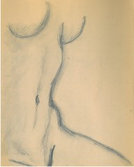 PENCIL a sitting (DREADNOUGHT2003) Tags: pencil color chalks drawings anatomy