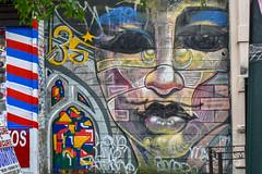 Harlem, New York (Quench Your Eyes) Tags: ny openhousenewyork2018 washingtonheights artist bicycle biketour biking cycling eastharlem explorenyc harlem manhattan newyork newyorkcity newyorkisopen nyc ohnywknd openhousenewyork publicspace streetart tourbybike uppermanhattan uptownmanhattan urbanart wallart washheights