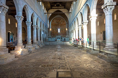 Inside the Basilica of Aquileia  the collection of mosaics on the floor of the basilica is also extremely significant as one of the largest and best-preserved in the Christian world.