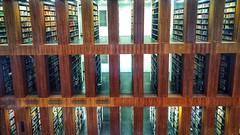 (Antiteilchen) Tags: architecture architektur linien symetrie wood books bücher holz bibliothek germany deutschland berlin jakobundwilhelmgrimmzentrum