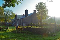 Rhongyr Uchaf House (cmw_1965) Tags: rhongyr uchaf house penycae upper swansea valley abercrave abercraf brecon beacons farm farmhouse gentleman farmer 17th century wales welsh rural sunbeams sun beams shafts light