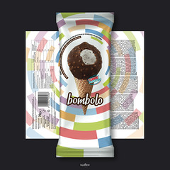 bombolo icecream (locolime creations) Tags: design designer creation creative creator icecream advertising adv package packaging commercial company foods promotion promo production products