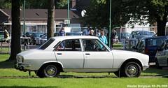 Peugeot 504 GL 1976 (XBXG) Tags: 37ya47 peugeot 504 gl 1976 peugeot504 lpg gpl la fête des limousines 2018 fort isabella reutsedijk vught nederland holland netherlands paysbas emw elk merk waardig vintage old classic french car auto automobile voiture ancienne française vehicle outdoor
