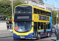 Dublin Bus SG327 (172D22467). (Fred Dean Jnr) Tags: dublin september2018 dublinbus busathacliath dublinbusyellowbluelivery oconnellstreetdublin volvo b5tl wright wrightbus eclipse gemini3 dbrook dublinbusroute11 sg327 172d22467