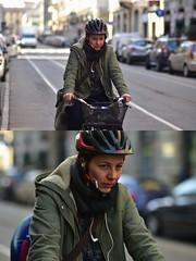 [La Mia Città][Pedala] (Urca) Tags: milano italia 2018 bicicletta pedalare ciclista ritrattostradale portrait dittico bike bicycle nikondigitale scéta 115913