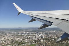 take off Basel Mulhouse Euroairport view on Basel 2018 (roli_b) Tags: take off takeoff start basel mulhouse eap freiburg airport aeropuerto flughafen aeroport basle window seat fensterplatz wings aerial view luftbild lauftaufnahme 2018 datud tui fly