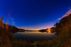 IMG_6492 (Desmojosh) Tags: canon 70d 8mm altura f3 medford new jersey nj atsion lake night shots long exposure stars luminar landscape blue water clouds trees