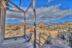 (Dilapidated) Porch View (Michael F. Nyiri) Tags: bodieca bodiestatehistoricpark bodieghosttown ghosttown buildings california