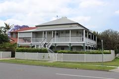 Queenslander house, Brisbane (philip.mallis) Tags: brisbane queenslander house suburb street building architecture hamilton