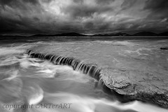0V6A7291bw (cARTerART) Tags: seilebost isle harris scotland outer hebrides seascape beach coast stormy weather sea waves