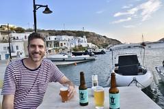 fullsizeoutput_90bd (lnewman333) Tags: sifnos siphnos greece europe cyclades village sea aegeansea faros ocean island beer craftbeer flarosbeer flaros harbor boats