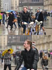 [La Mia Città][Pedala] con bikeMI (Urca) Tags: milano italia 2018 bicicletta pedalare ciclista ritrattostradale portrait dittico bike bicycle nikondigitale scéta 11598 bikemi bikesharing