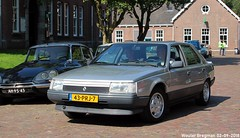 Renault 25 GTX automatic 1986 (XBXG) Tags: 43prj7 renault 25 gtx automatic 1986 renault25 r25 bva automatique la fête des limousines 2018 fort isabella reutsedijk vught nederland holland netherlands paysbas emw elk merk waardig youngtimer old classic french car auto automobile voiture ancienne française vehicle outdoor