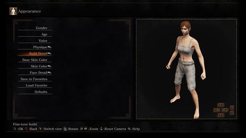 Dark Souls 3 character customization