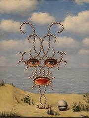"""Sheherazade"", Rene Magritte (1950) (Joey Hinton) Tags: sanfrancisco california unitedstates rene magritte exhibit museum modern art google pixel2 andriod smartphone cellphone cameraphone phone"