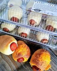 Take and Bake Sausage Rolls (Rick's Bakery) Tags: kolache sausagerolls jalapeno takeandbake