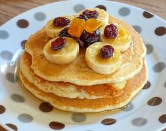 Tortitas... (mike828 - Miguel Duran) Tags: comida food tortitas pancakes desayuno breakfast fruta fruit foodie sony rx100 m4 mk4 iv homemade casera