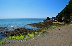 The Coast at Charlestown (Eddie Crutchley) Tags: europe england cornwall charlestown outdoor nature coast seashore water sea rocks blueskies beauty simplysuperb sunlight