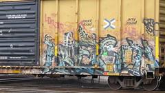IMG_6798 (jumpsoner) Tags: benching benchingsteel benchingtrains bencher boxcars freights freightculture freightgraffiti foamer foamers freghtculture traingraffiti trains trainspotting traingraff tracksides graffiti graffculture graff g