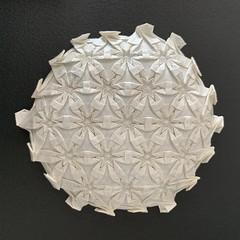 (kz_miu910) Tags: おりがみ 折り紙 折纸 摺紙 tessellation origamitessellation origami