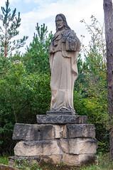 _DSC1498.jpg (Kaminscy) Tags: roztocze zamojszczyzna statue stonepit forest monument christ jesus europe jozefow poland józefów lubelskie pl