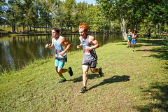 FLO06365 (chap6886@bellsouth.net) Tags: athletes athletics action sports highmiddleschool highschoolathletics boys girls team trees trails win water woods distance 5k xc usa