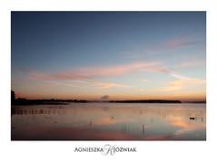 Sunrise in Powidz (smoothna) Tags: summer sunrise mist morning lake sunriseatthe smoothna d90 sigma1020mm