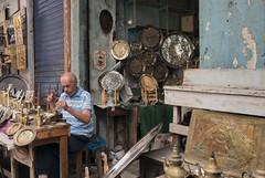 Souk Artistan. (Lucie Kratz) Tags: artisan copper souk tunisia tunis tunisie cuivre gx80 lumixg craft