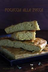 focaccia alla zucca (cindystarblog) Tags: mtc mtchallenge pane focaccia bread zucca pumpkin verdure vegetables erbearomatiche