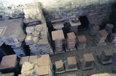 img878 (foundin_a_attic) Tags: hotroom caldarium roman villa chedworth gloucestershire