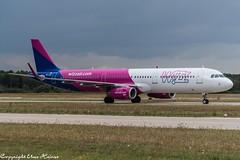 Wizz Air HA-LXF (U. Heinze) Tags: aircraft airlines airways airplane planespotting plane haj hannoverlangenhagenairporthaj flugzeug eddv nikon