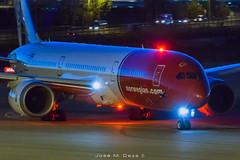 Norwegian B787-9 LN-LNK (José M. Deza) Tags: 20181029 b7879 bcn boeing dreamliner elprat lebl lnlnk norwegain planespotting spotter aircraft