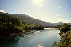 Wandering river (charlottehbest) Tags: charlottehbest 2017 september norway scandinavia honeymoon travel theadventuresofhenryjruffington roadtrip nikon nikond5000 river