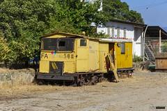 Comsa FA508 | Estación Puangue (Felipe Radrigán) Tags: tren ferrocarril train railroad railway comsa estacion puangue fa508 motocarril motor rail car railmotorcar speeder chile