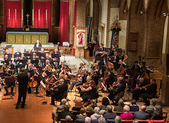 DSCN0354right Beethoven 5th Symphony. Ealing Symphony Orchestra, leader Peter Nall, conductor John Gibbons. St Barnabas Church, west London. 6th October 2018 (Paul Ealing 2011) Tags: ealing symphony orchestra eso 6 october 2018 conductor john gibbons leader peter nall st barnabas church west london pitshanger lane w51qg w5 1qg england concert classical