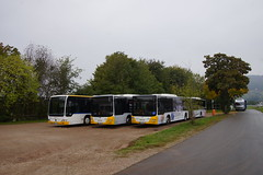 Moselbahn MAN Lion's City G met kenteken WIL-MB 183, WIL-MB 184 en Mercedes-Benz Citaro O 530 in Klüsserath 07-10-2018 (marcelwijers) Tags: moselbahn man lions city g met kenteken wilmb 183 184 en mercedesbenz citaro o 530 klüsserath 07102018 bus mercedes benz coach busse buses linienbus lijnbus geledebus fautobus autocar autocars germany deutschland duitsland allemagne