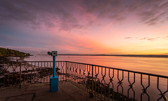 Mersey Morning Colours (Rob Pitt) Tags: eastham ferry sunrise colour river mersey merseyside wirral low tide october 2018 cloud sky outdoor a7rii canon 1740 f4 l sea sunset landscape ocean water bay