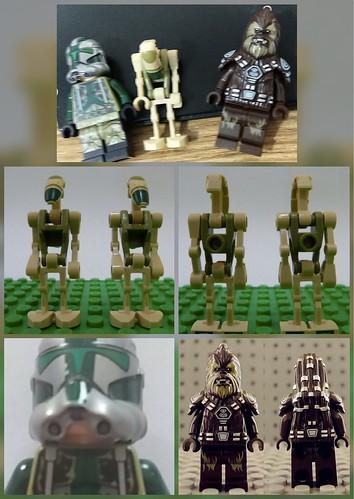 New sneaks Lego Star Wars minifigs