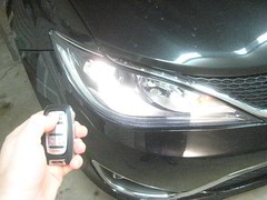 2017-2019 Chrysler Pacifica Minivan - Testing Key Fob After Changing Battery (paul79uf) Tags: 2017 2018 2019 chrysler pacifica minivan key fob smart intelligent battery change coin cell part number steps instructions directions tutorial guide 1st first generation