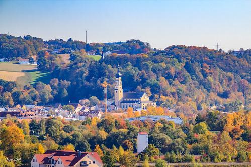 Herbst im Bayerischen Wald.Deggendorf