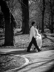 Central Park Wedding 2011 (bobbex) Tags: usa bigapple manhattan newyork centralpark bw newyorkbw blackandwhite