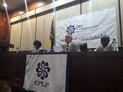 Conferência de Imprensa - Comunicação Preliminar de Constatações (16) (Comunidade dos Paises de Lingua Portuguesa) Tags: cplp moçambique observação eleições autárquicas
