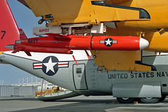 BQM-74E target drone (skyhawkpc) Tags: aviation rdte officialusnavy 1992 570496 dc130a hercules nasptmugu pmtc dvic navalairwarfarecenterweaponsdivision vancevasquez navy usn naval aircraft airplane usnavy nawcwd ca bq35082 bqm74e pacificmissiletestcenter