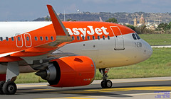 G-UZHB LMML 11-10-2018 (Burmarrad (Mark) Camenzuli Thank you for the 13.7) Tags: airline easyjet aircraft airbus a320251n registration guzhb cn 7705 lmml 11102018