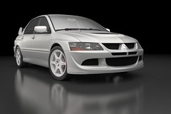 Lancer Evolution 8 (xar3d) Tags: 3dmodel mitsubishi lancer evolution 8 viii car sportcar rally legend download wallpapper