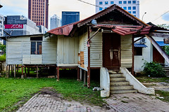Kampung Bahru, City of Kuala Lumpur, Malaysia (explore) (Thanathip Moolvong) Tags: kampungbahru city village kualalumpur malaysia house home cottage love life live rich poor old new