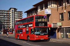 LJ05GSO Romford August 2018 (MCW1987) Tags: transport for london tfl romford alexander alx400 arriva transbus bodied volvo b7tl vla140 lj05gso