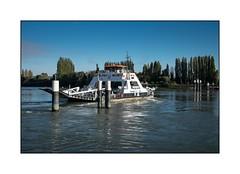 Bac de Duclair (SiouXie's) Tags: color couleur fujixe2 fuji fujifilm 1855 siouxies duclair seine bac paysage landscape river rivière bateau boat